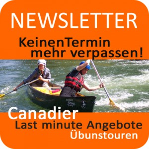 Newsletter Rivertours Kanufahren