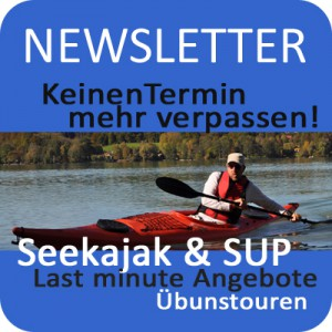 Newsletter Rivertours Seekajak SUP