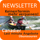 Newsletter Button Kanufahren Rivertours