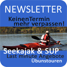 Newsletter Seekajak SUP Rivertours