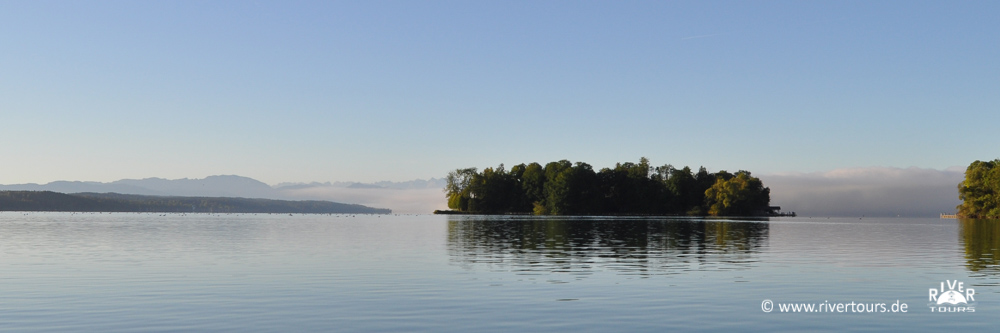 Seekajak am Starnberger See