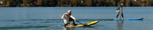 Stand up Paddeln SUP mit Rivertours in Bayern