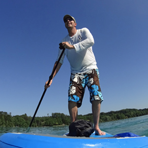 SUP Tour Pilsensee - Stand up paddling